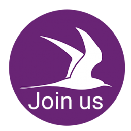 TERN Logo with 'Join us' text