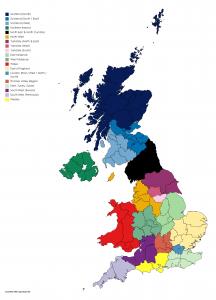 (Regional map for TERN Regions)