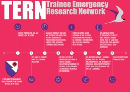 TERN Trainee Emergency Research Network Infographic